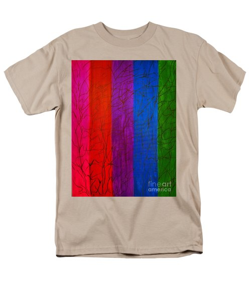 Honor The Rainbow Men's T-Shirt  (Regular Fit) by Rachel Hannah