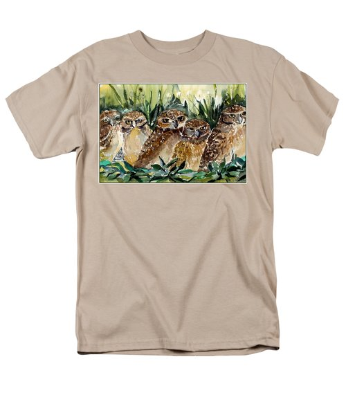 Hoo Is Looking At Me? Men's T-Shirt  (Regular Fit) by Mindy Newman