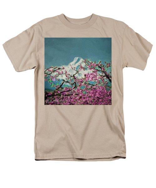 Men's T-Shirt  (Regular Fit) featuring the digital art Hood Blossoms by Dale Stillman
