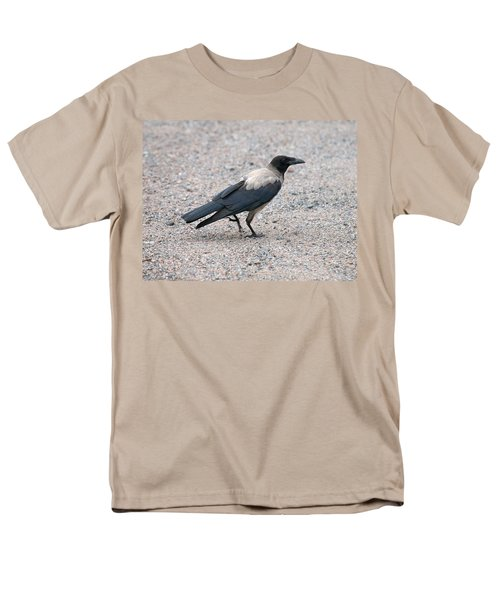 Men's T-Shirt  (Regular Fit) featuring the photograph Hooded Crow by Jouko Lehto
