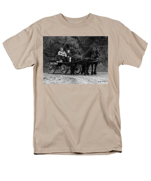 Men's T-Shirt  (Regular Fit) featuring the photograph Horse Power by Roy McPeak