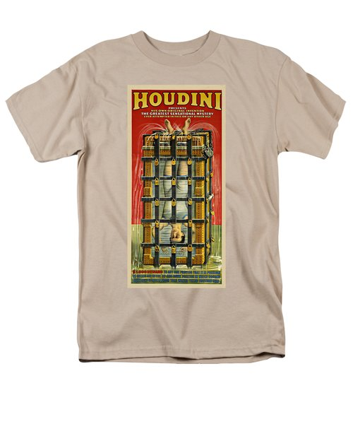 Houdini Advertisement 1916 Men's T-Shirt  (Regular Fit) by Andrew Fare