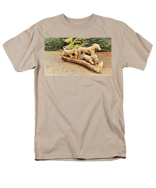 Hounds On The Run Men's T-Shirt  (Regular Fit) by John Williams