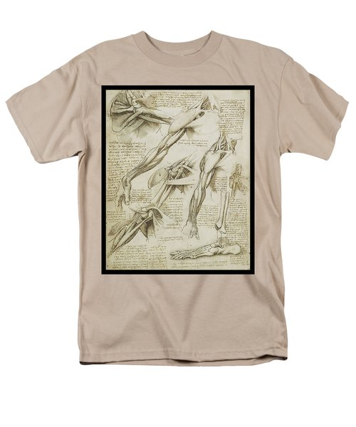 Human Arm Study Men's T-Shirt  (Regular Fit) by James Christopher Hill