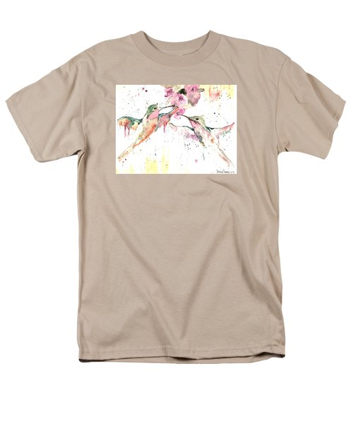 Men's T-Shirt  (Regular Fit) featuring the painting Hummers by Denise Tomasura