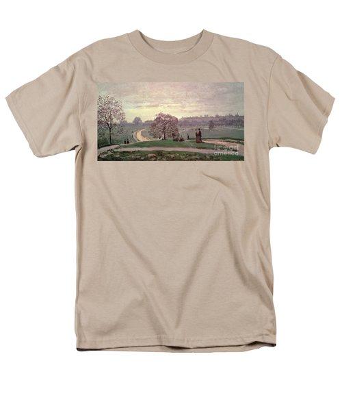 Hyde Park Men's T-Shirt  (Regular Fit) by Claude Monet