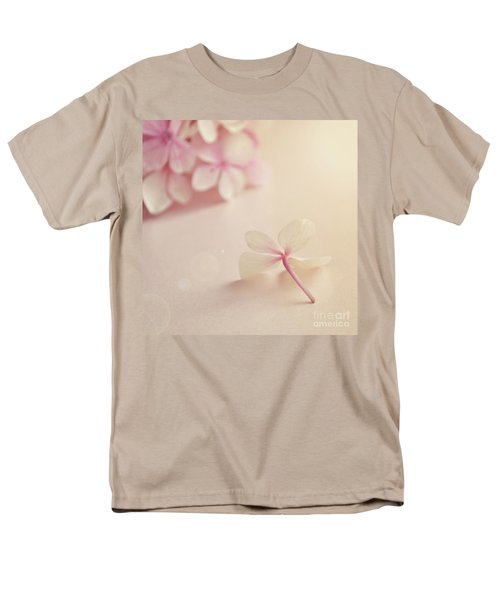 Men's T-Shirt  (Regular Fit) featuring the photograph Hydrangea Flower by Lyn Randle