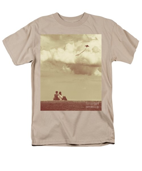 I Had A Dream I Could Fly From The Highest Swing Men's T-Shirt  (Regular Fit) by Dana DiPasquale