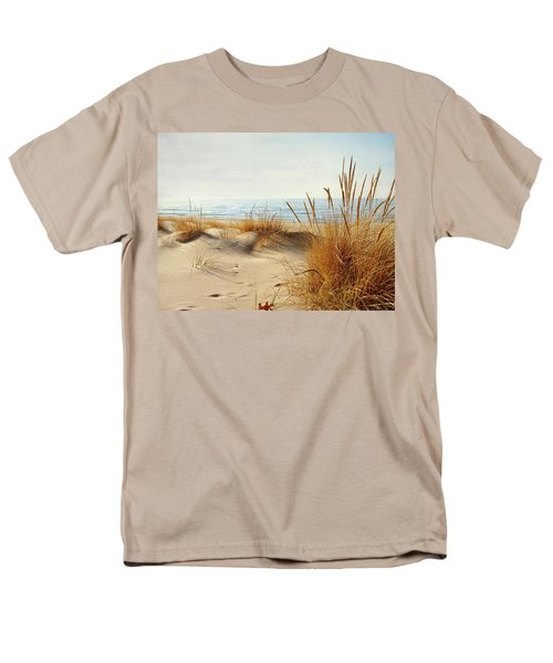 Men's T-Shirt  (Regular Fit) featuring the photograph I Hear You Coming  by Kathi Mirto