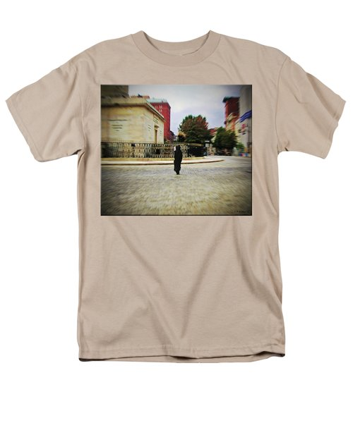 Men's T-Shirt  (Regular Fit) featuring the photograph I Walk Alone by Brian Wallace