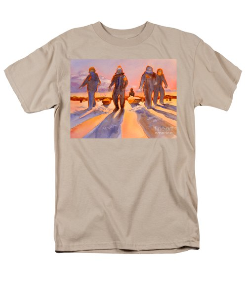 Ice Men Come Home Men's T-Shirt  (Regular Fit) by Kathy Braud