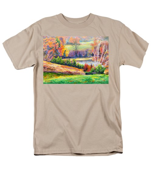 Illuminating Colors Of Fall Men's T-Shirt  (Regular Fit) by Lee Nixon