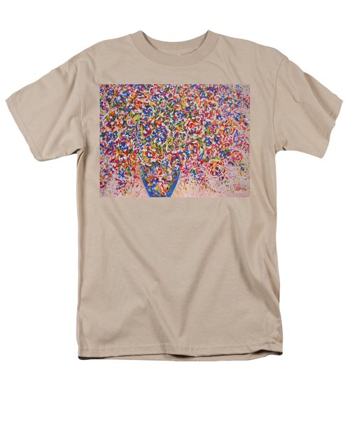 Men's T-Shirt  (Regular Fit) featuring the painting Illumination by Natalie Holland