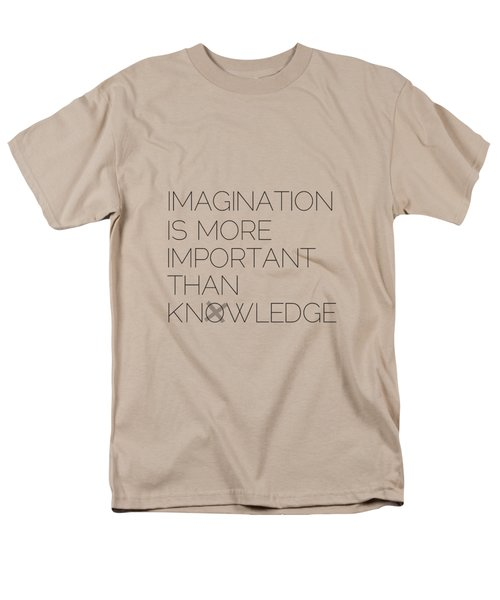 Imagination Men's T-Shirt  (Regular Fit)