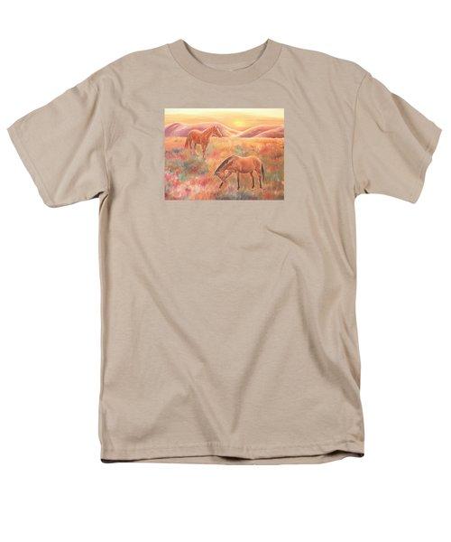 Impressions At Sunset Men's T-Shirt  (Regular Fit) by Elizabeth Lock