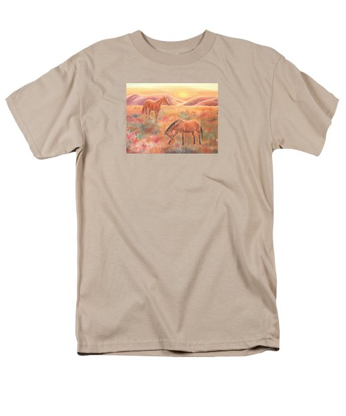Impressions At Sunset Men's T-Shirt  (Regular Fit)