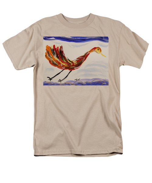 Inspired By Calder's Only Only Bird Men's T-Shirt  (Regular Fit) by Mary Carol Williams