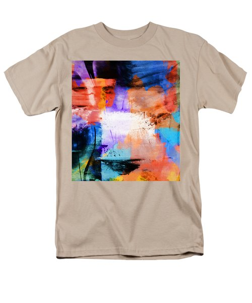 Men's T-Shirt  (Regular Fit) featuring the painting Into The Open by Dan Sproul