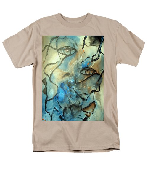 Men's T-Shirt  (Regular Fit) featuring the painting Inward Vision by Raymond Doward