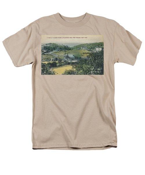 Inwood Postcard Men's T-Shirt  (Regular Fit) by Cole Thompson