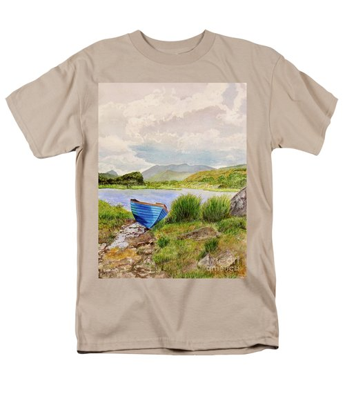 Men's T-Shirt  (Regular Fit) featuring the painting Ireland by Carol Flagg
