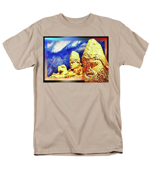 Men's T-Shirt  (Regular Fit) featuring the painting Irreplaceable   Ancient  Glory by Hartmut Jager