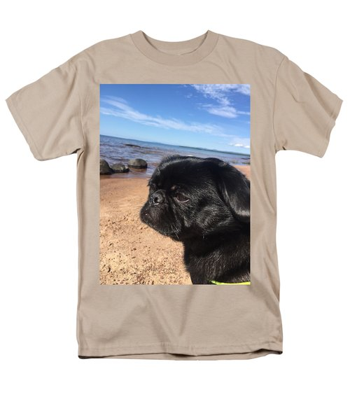 Men's T-Shirt  (Regular Fit) featuring the photograph Is This My Good Side? by Paula Brown