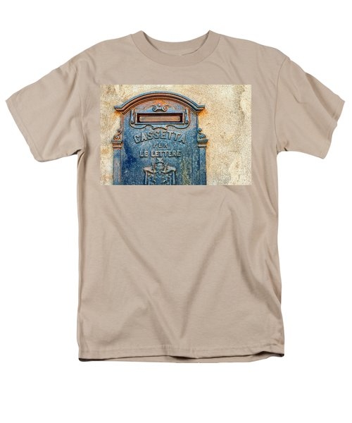 Italian Mailbox Men's T-Shirt  (Regular Fit) by Silvia Ganora