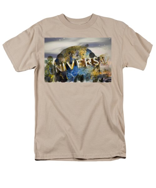 It's A Universal Kind Of Day Men's T-Shirt  (Regular Fit) by Trish Tritz