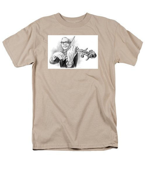 Jack Benny Men's T-Shirt  (Regular Fit) by Greg Joens