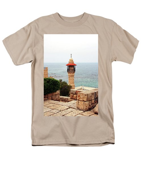 Men's T-Shirt  (Regular Fit) featuring the photograph Jaffa Israel by Denise Moore