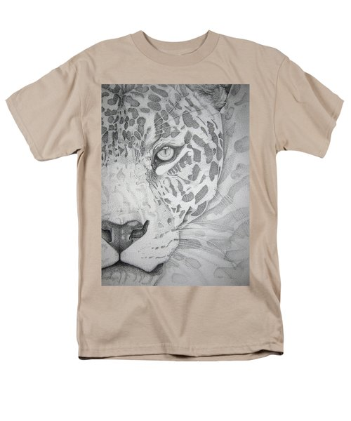 Jaguar Pointillism Men's T-Shirt  (Regular Fit)