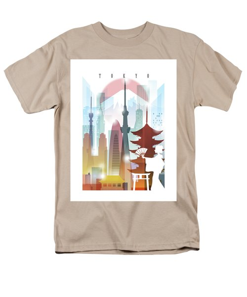 Japan Tokyo 2 Men's T-Shirt  (Regular Fit) by Unique Drawing