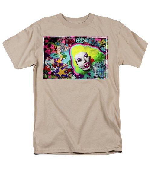 Men's T-Shirt  (Regular Fit) featuring the photograph Jayne Mansfield - Pop Art by Colleen Kammerer