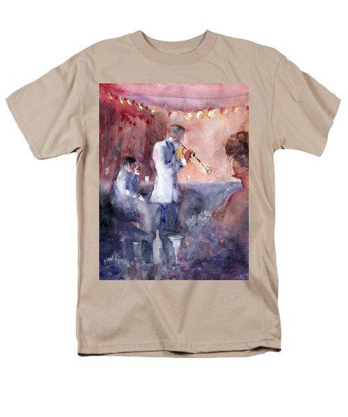 Jazz Nights Men's T-Shirt  (Regular Fit) by Faruk Koksal