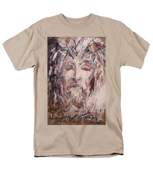Jesus Christ Men's T-Shirt  (Regular Fit) by Pierre Van Dijk