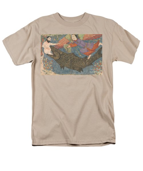 Jonah And The Whale Men's T-Shirt  (Regular Fit) by Iranian School