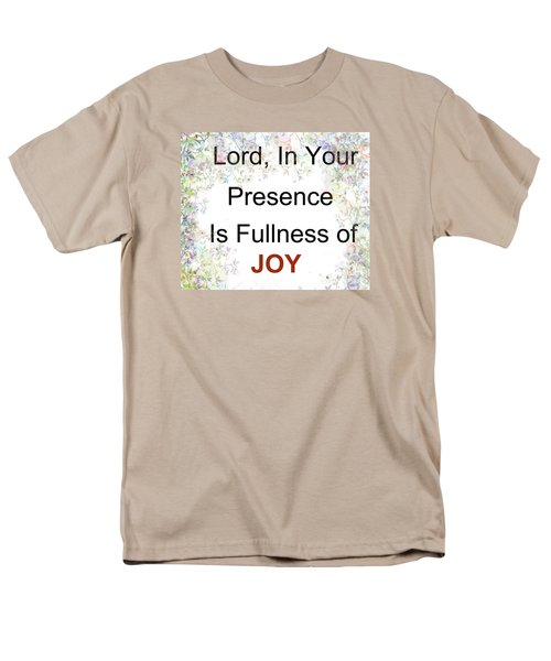 Men's T-Shirt  (Regular Fit) featuring the photograph Joys Of Life by Trilby Cole