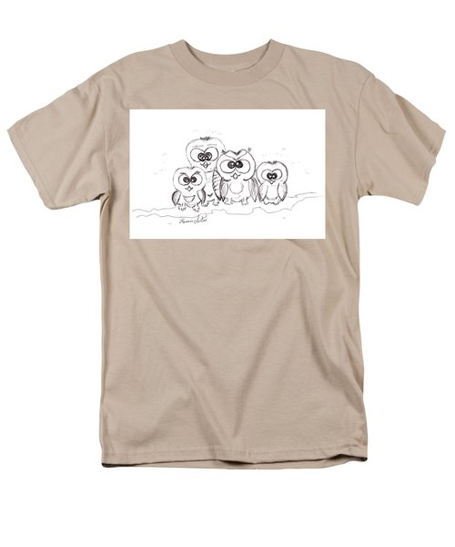 Just The Four Of Us Men's T-Shirt  (Regular Fit) by Ramona Matei