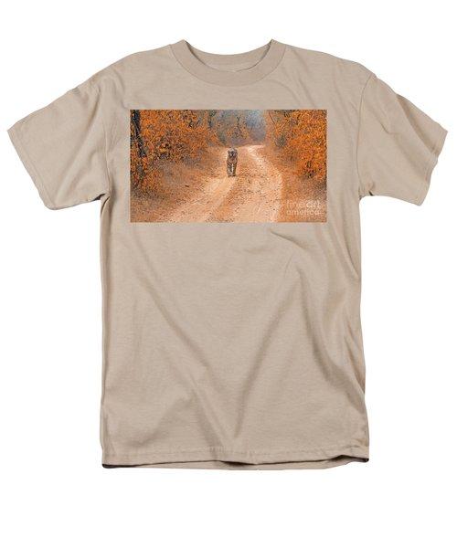 Keep Walking Men's T-Shirt  (Regular Fit) by Pravine Chester
