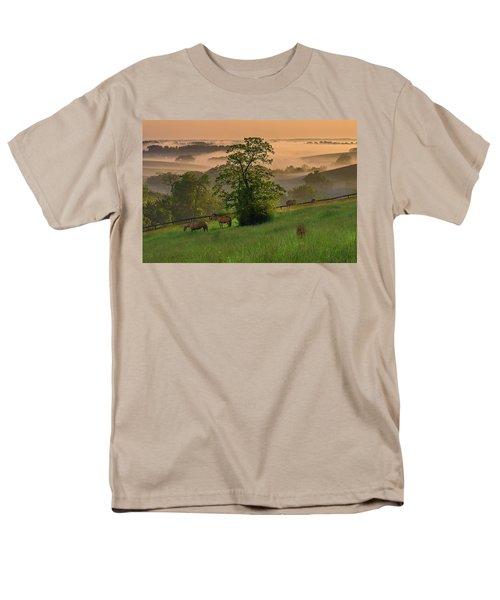 Kentucky Morning Sunshine. Men's T-Shirt  (Regular Fit) by Ulrich Burkhalter