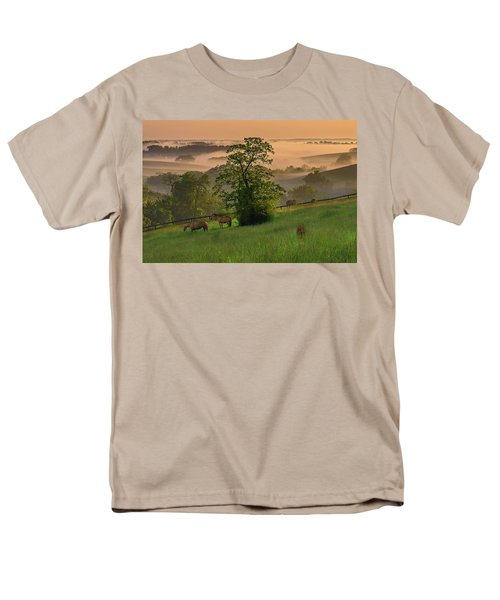 Kentucky Morning Sunshine. Men's T-Shirt  (Regular Fit)