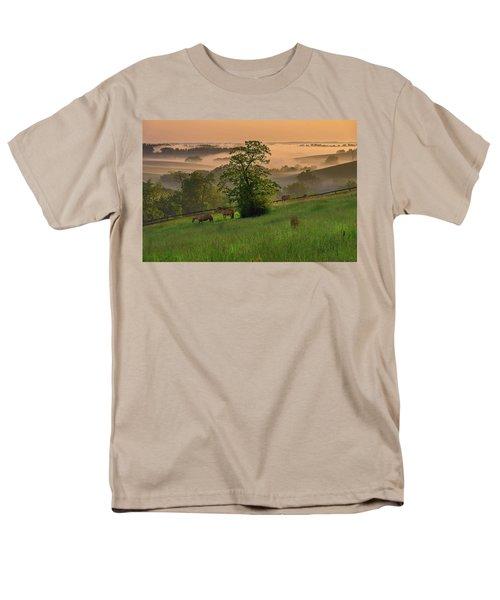 Kentucky Morning Men's T-Shirt  (Regular Fit) by Ulrich Burkhalter