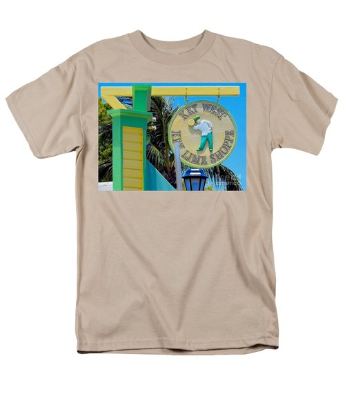 Key West Key Lime Shoppe Men's T-Shirt  (Regular Fit) by Janette Boyd