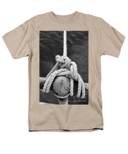 Men's T-Shirt  (Regular Fit) featuring the photograph Knot On My Warf Iv by Stephen Mitchell