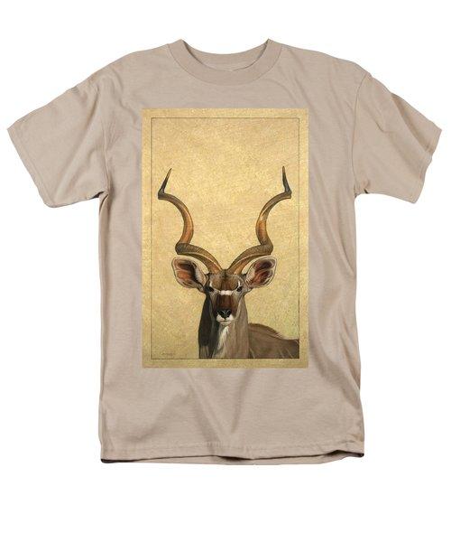 Kudu Men's T-Shirt  (Regular Fit) by James W Johnson