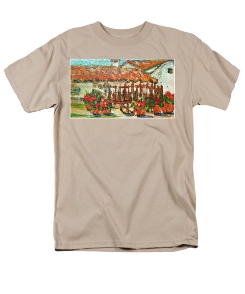 Men's T-Shirt  (Regular Fit) featuring the painting La Mancha by Mindy Newman