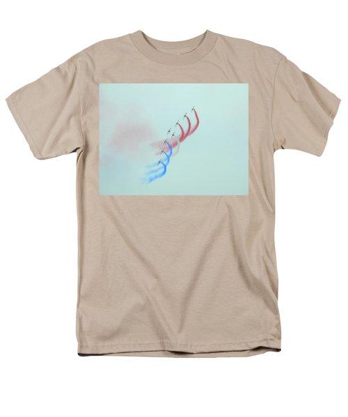 La Patrouille De France Men's T-Shirt  (Regular Fit) by Betty-Anne McDonald