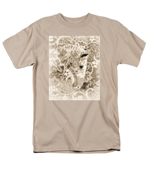 Men's T-Shirt  (Regular Fit) featuring the photograph Lacey by Lila Fisher-Wenzel