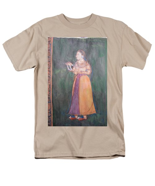 Lady Of The Court Men's T-Shirt  (Regular Fit) by Vikram Singh
